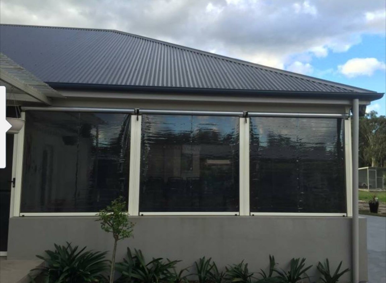 Outdoor blinds sydney by design free quotes frm 230 sqm clear pvc cafe blinds solutioingenieria Gallery