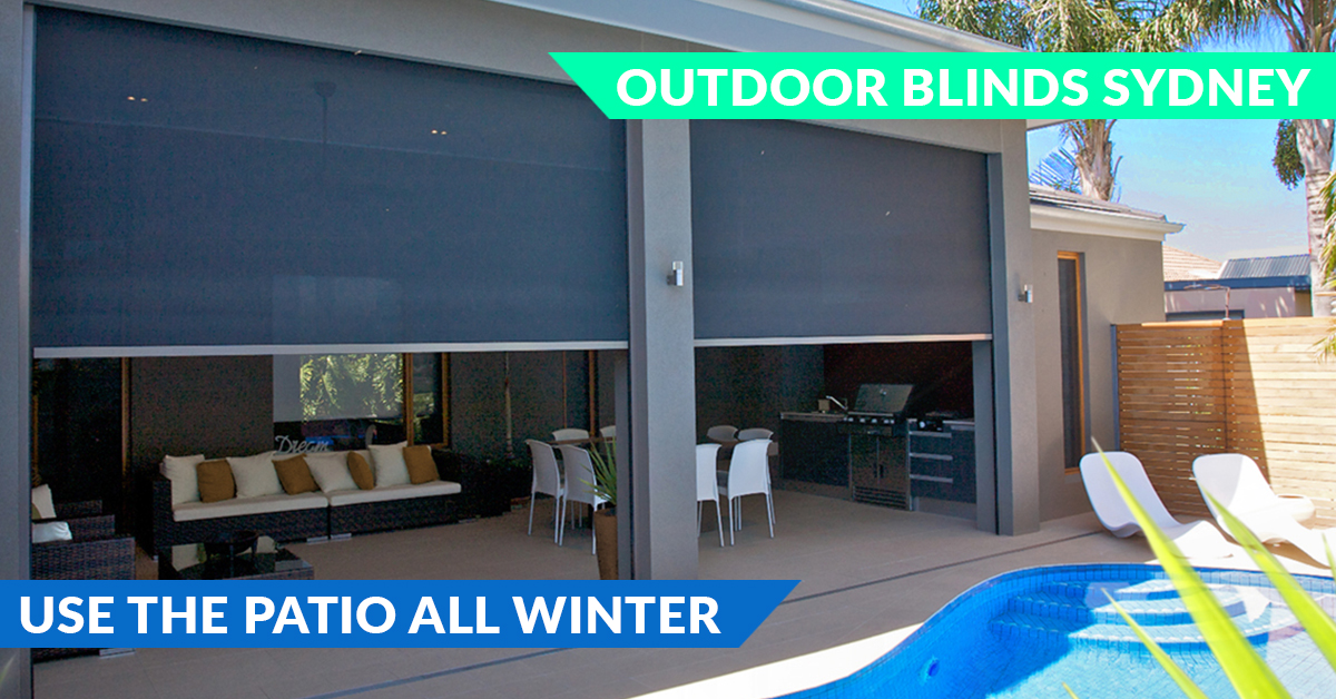 Designer Outdoor Blinds