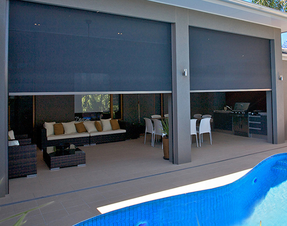 Outdoor Blinds Sydney By Design Free Quotes Frm 230 Sqm